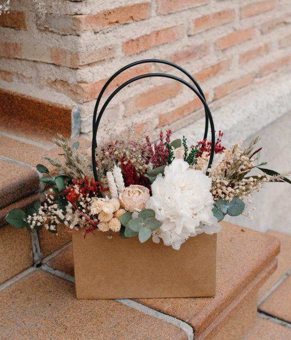 flores preservadas a domicilio