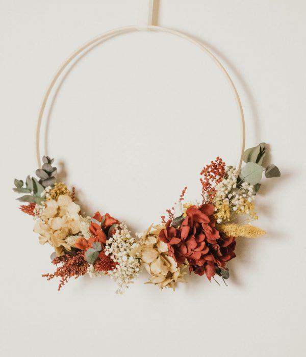 bastidor flores preservadas